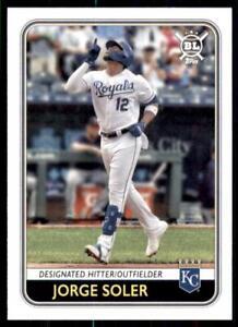 2020 Big League Base #32 Jorge Soler - Kansas City Royals