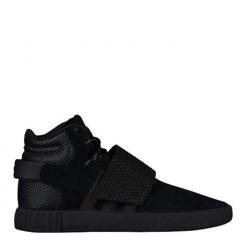 Mens Adidas Tubular Invader Strap Black Black BB1398 Sizes  UK 9_9.5_10.5