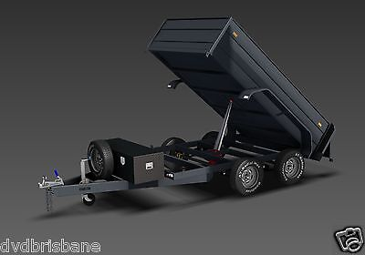 Trailer Plans - 3400kg HYDRAULIC TIPPING TRAILER PLANS -PLANS ON USB Flash Drive