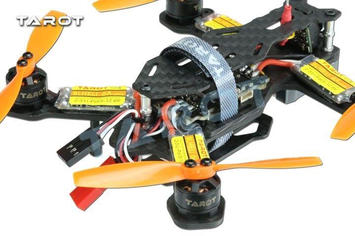 Tarot Mini 120mm 4-Axis Carbon Fiber FPV Racing Drone Multicopter Kit  - TL120H1