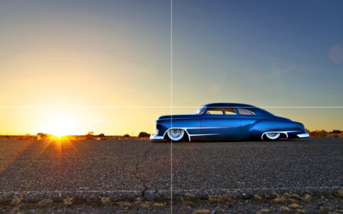 "CHEVY CLASSIC HOT ROD NEW GIANT LARGE ART PRINT POSTER PICTURE WALL 33.1/""x20.7/"""