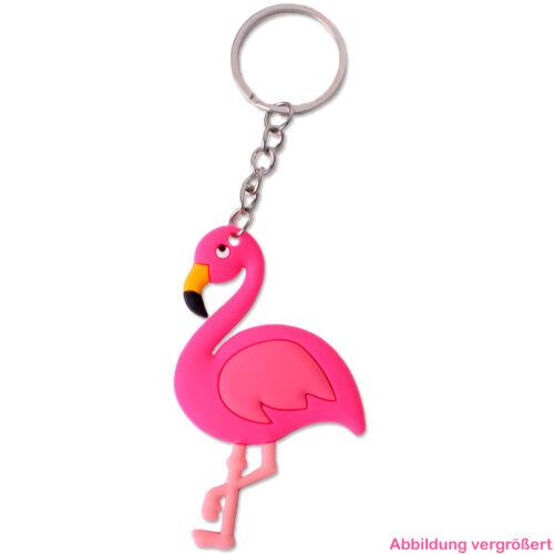 12 unidades colgante llavero flamingo rosa cadena decorativa chicas mitgebsel