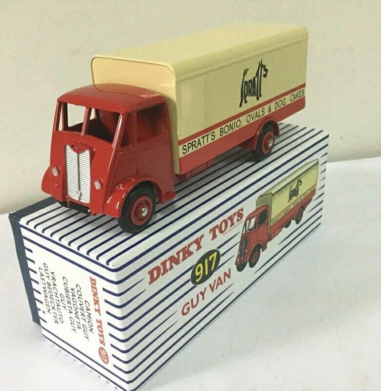 1 43 Dinky Toys 917 Atlas supertoys GUY VAN SPRATTS SPRATTS SPRATTS Alloy Diecast Car model 643d9f