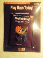 Hal Leonard Play Bass Today Pack Book, Cd And Dvd Sealed