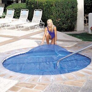 6'x6' Ft Square Spa & Hot Tub Thermal Solar Blanket Cover- 15 Mil