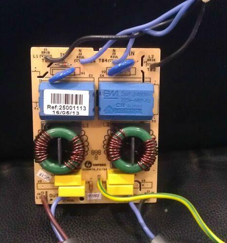 INDESIT VIX644CE INDUCTION HOB FILTER PCB MODULE Genuine VIX3