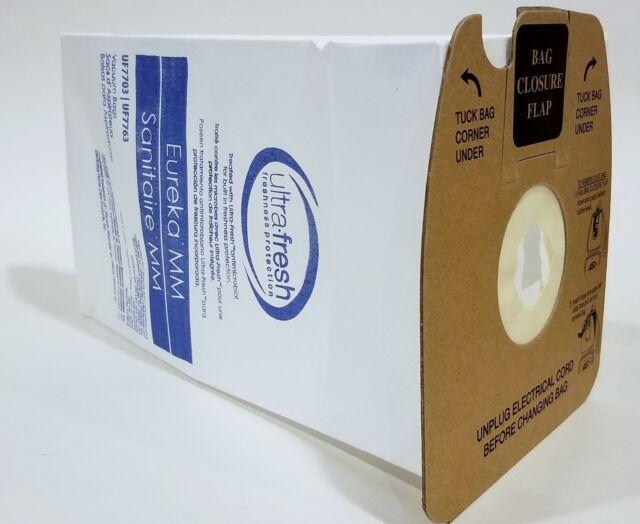 3 Pack Replacement Type MM Vacuum Bag for Eureka 60296C Bag