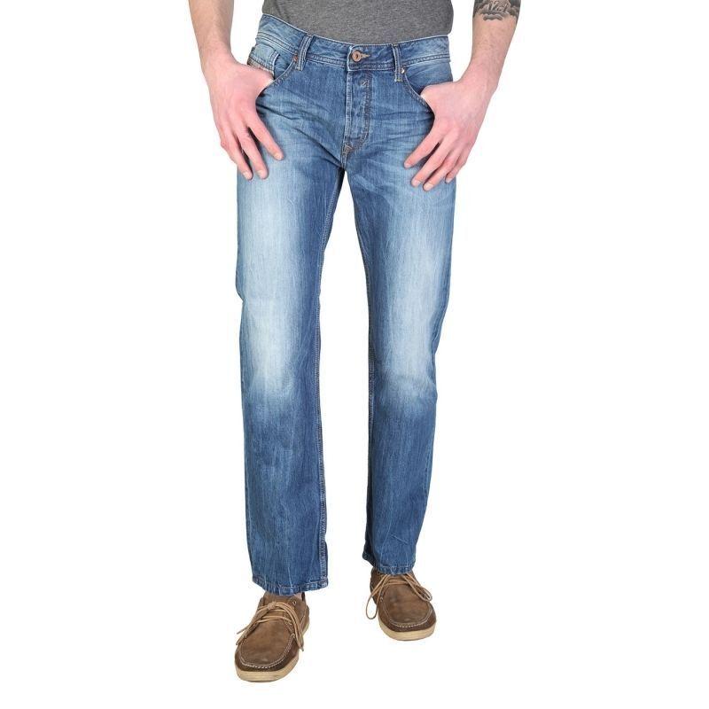 Jeans jeans Diesel man WAYKEE 0RBRT regular straight straight cut cheap