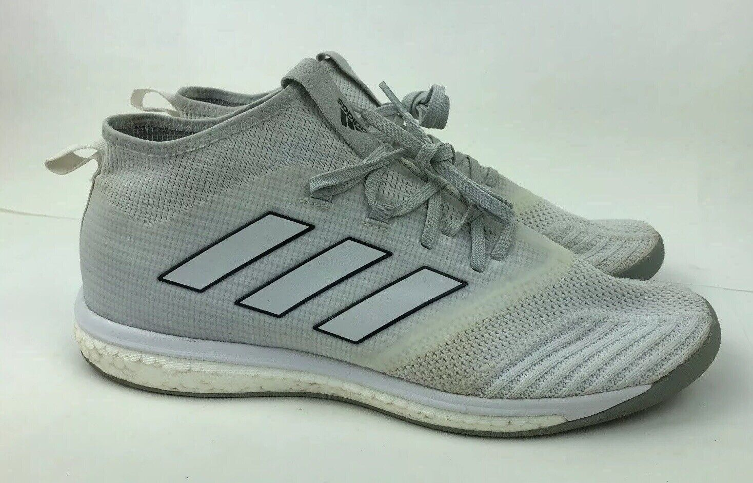 Adidas boost shoes White Athletic Running shoes FR 46 Mens US Size 11.5