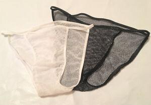 c2a347d1c83 Details about Men s String Bikini Seamless BODY Hugger Underwear Sheer Cool Air  Light FISH NET