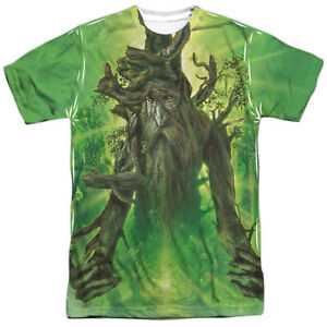LORD-OF-THE-RINGS-TREEBEARD-Licensed-Front-Print-Adult-Men-039-s-Tee-Shirt-SM-3XL