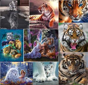 UK-Tiger-Cat-DIY-5D-Diamond-Painting-Animal-Embroidery-Cross-Stitch-Craft-Decor
