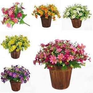 Decor-Artificiel-Marguerite-Fleurs-Art-Artificielle-Fleurs-En-Soie-Florale-Mode