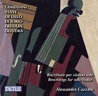 Rewritings for Solo Violin von Alessandro Cazzato (2016)