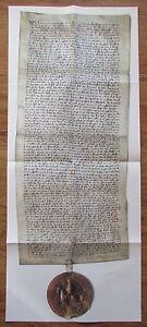 Faksimile TESTAMENT KÖNIG FRIEDRICH III DES SCHÖNEN österreichische Geschichte