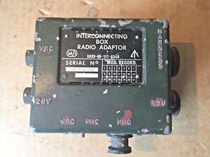 ANR INTERCONNECTING BOX 3 RADIO NSN 5820 99 842 2189