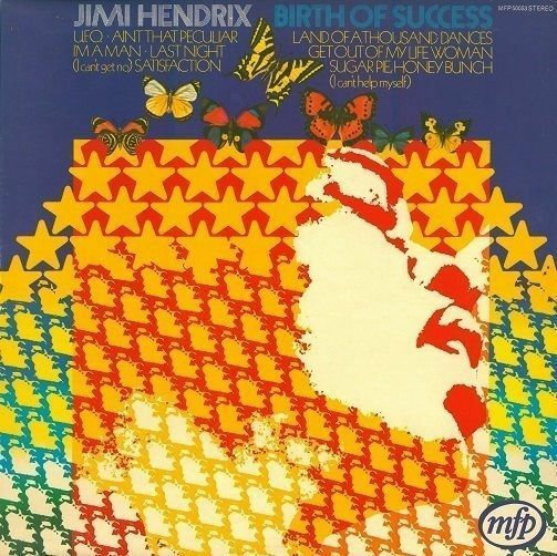 JIMI HENDRIX Birth Of Success Vinyl Record LP MFP 50053 1970