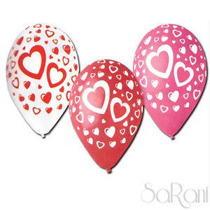 Palloncini Colorati 20 pz Palloni Festa Party Decorazioni Cuori 30 cm SARANI