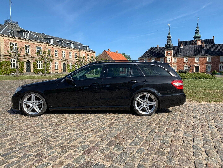 Mercedes E200 2,2 CDi Avantgarde stc. aut. BE 5d - 99.500 kr.