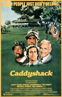 Caddyshack Mint Rolled Movie Poster Golf Chevy Chase Bill Murray 24x36