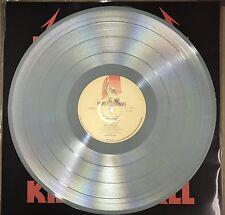 METALLICA KILL 'EM ALL, 180 GRAM GRAY COLORED VINYL LP IMPORT W/ LYRIC INSERT