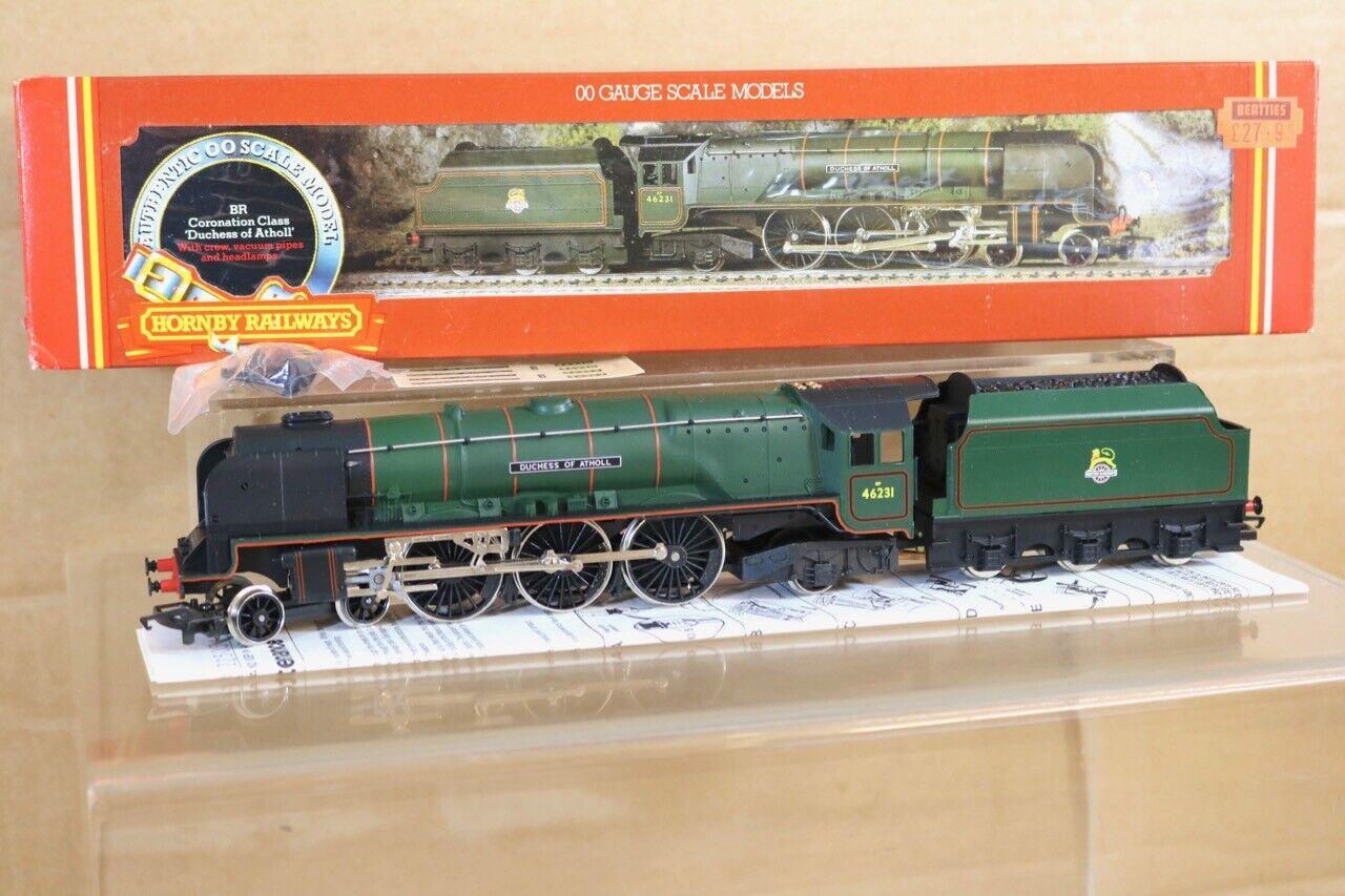 Hornby R262 Br grön 4 -6 -2 Hertiginnan Classe Loco 46231 Duchessa di Athol MIB NS