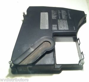 1997 2001 bmw 740il e38 ecu fuse box panel cover under hood oem rh ebay com 97 bmw 740il fuse box location