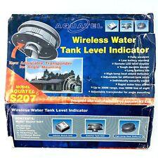 Aquatel S207 Ultrasonic Water Tank Liquid Level Sensor Monitor Rf Remote