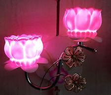 Pink Lotus Shaped LED Lamps Wall Light/Decorative Night Lamp by Dreamzdecor