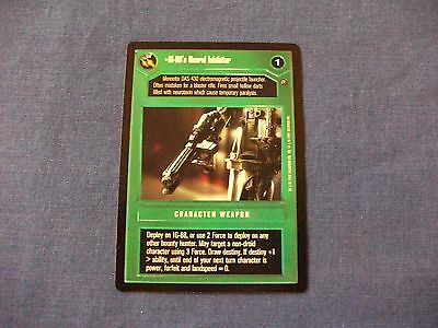 Star Wars CCG Dagobah Limited IG-2000