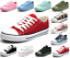 New-Womens-Girls-Classic-Lace-Up-Canvas-Shoes-Casual-Comfort-Sneakers-11-Colors thumbnail 1