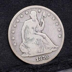 1876-Liberty-Seated-Half-Dollar-Fine-Details-29644
