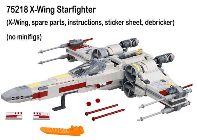 Lego Star Wars New 75218 X Wing Starfighter Only No Figs 2018 Luke