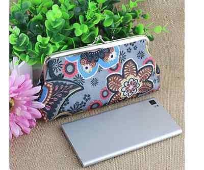 d14722bdc4f35 ... Tasche Geldbörse Clutch Blumen bunt Tasche mini gemustert  Kosmetiktasche klein ...