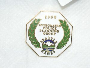 Seattle Goodwill Games 1990 Integrated Police Planning Group Metal