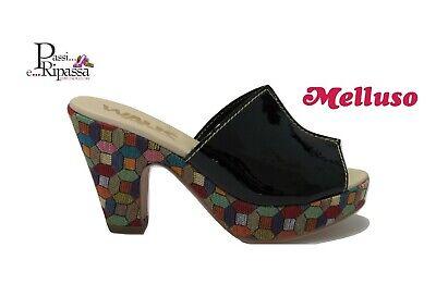 Scarpe sandali Melluso Walk da donna in pelle vernice scalzato con tacchi alti | eBay