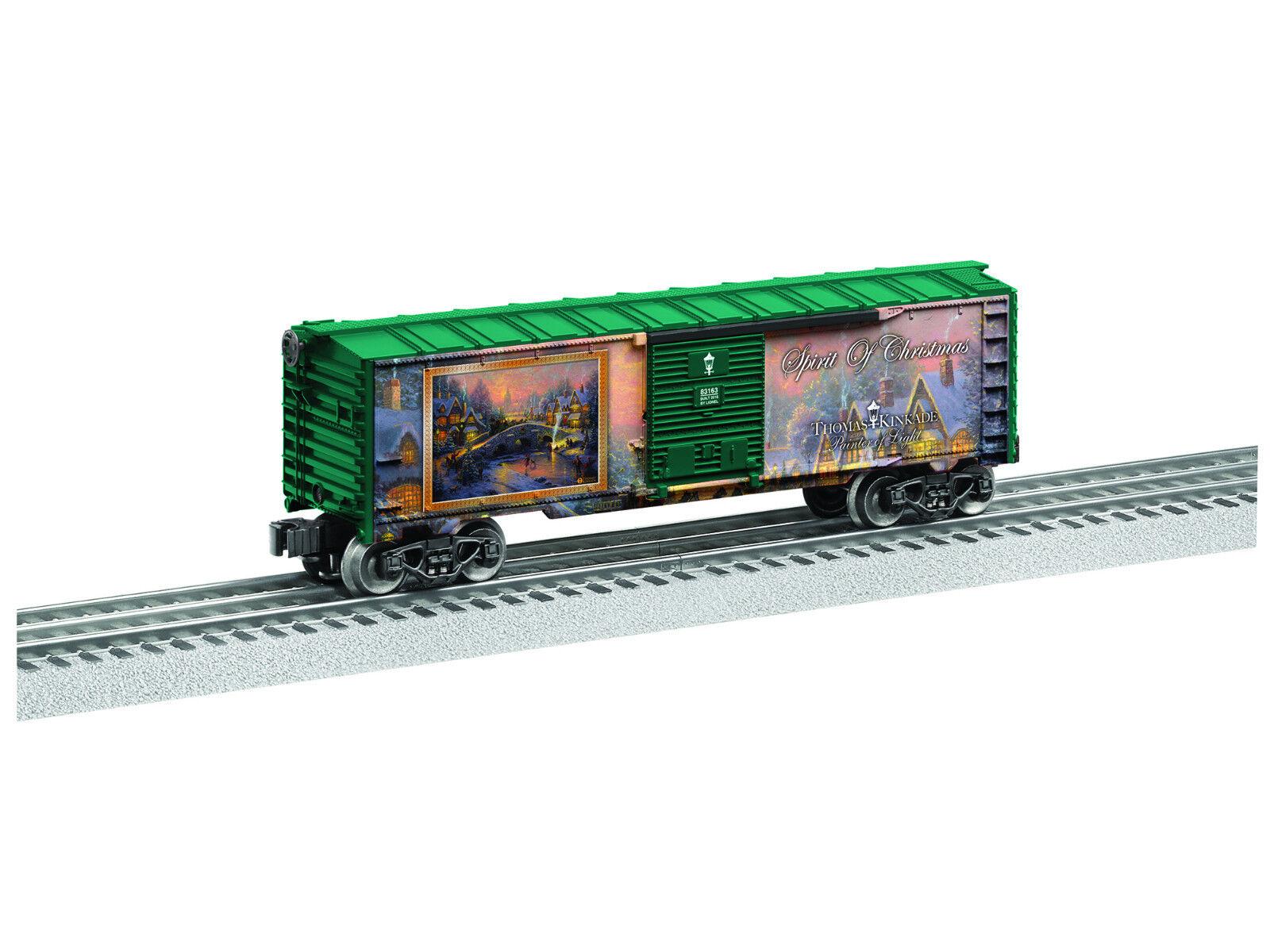 Lionel 6-83163 O Kinkade Christmas Boxcar NEW IN ORIGINAL BOX