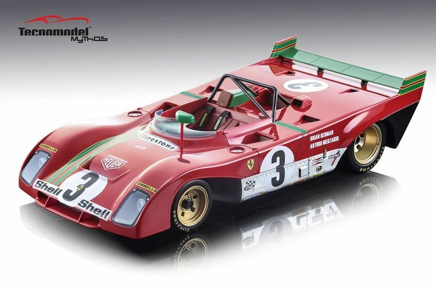 Ferrari 312 pb winner 1000 km spa 1972 rossoman Merzario 1 18 Model