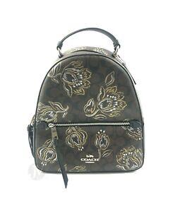 Coach-F76779-Signature-Coated-Canvas-Jordyn-Medium-Leather-Backpack-Bag