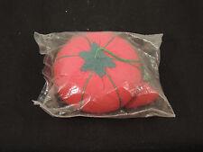 Tomato Pin Cushion with Strawberry sharpener (1219)