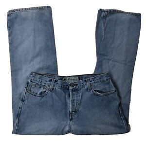 Vtg-American-Eagle-Jeans-Womens-Sz-10-Petite-Light-Wash-Blue