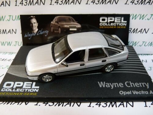OPE138R 1//43 IXO designer serie OPEL collection VECTRA A W.Cherry silver
