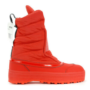 Adidas-X-Stella-McCartney-Nangator-3-Red-Women-039-s-Winter-Boots-AQ3237-NEW