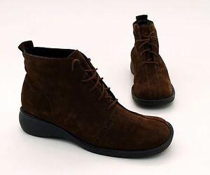 Details zu Boots Piudi Servas Stiefeletten Schnürer Echtleder braun Gr. 5 = 38