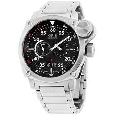 Oris BC4 Der Meisterflieger Black Dial Stainless Steel Men's Watch 64976324164MB