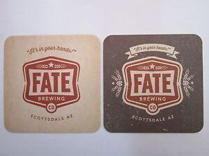 Bière dessous de Verre ~ ~ Fate Brewing Company~ Scottsdale-Arizona ~>