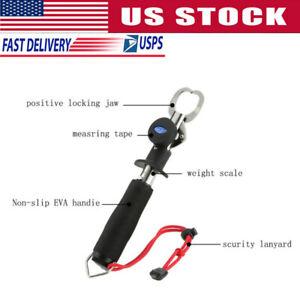 1x-Fish-Grip-Lip-Trigger-Lock-Fishing-Tackle-Gripper-Grabber-Grab-Scale-Tools-US