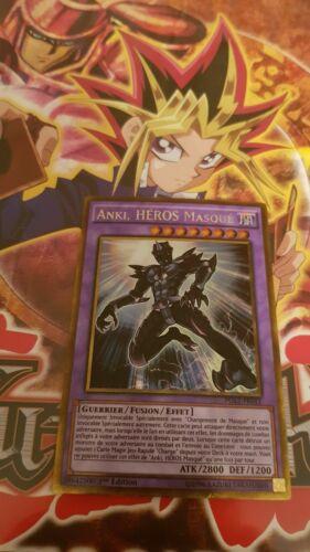 pgl2-fr011 gold secret rare french masked hero anki Card yu-gi-oh
