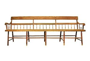 Bench - Settee - Handcrafted - Early American -Material Culture
