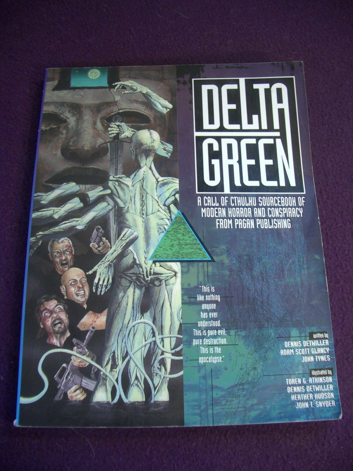 Delta verde Call of Cthulhu RPG Sourcebook 1996